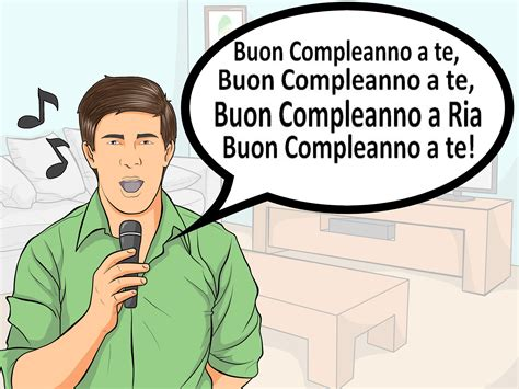 how do you say in italian how to say happy birthday in italian 11 steps with pictures