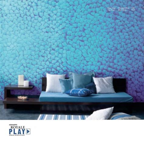 Home Design Royale Asian Paints Wall Effect Designs