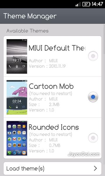 miui themes download failed download jaws miui android rom for htc hd2 jayceooi com
