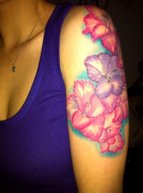 different flower tattoos 17 gladiolus tattoos designs