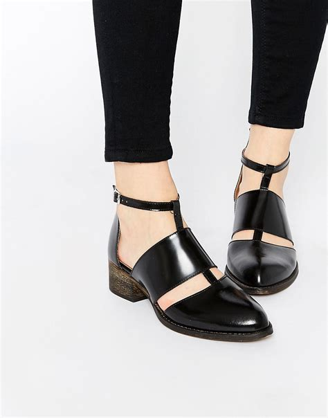 warehouse warehouse cut out ankle boots at asos