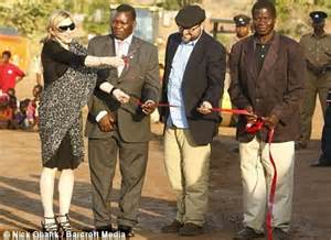 Trouble In Madonna Land by Madonna Forced To Drop Malawi School Blaming
