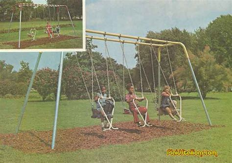 sids swing vintage playground equipment i retro playgrounds i