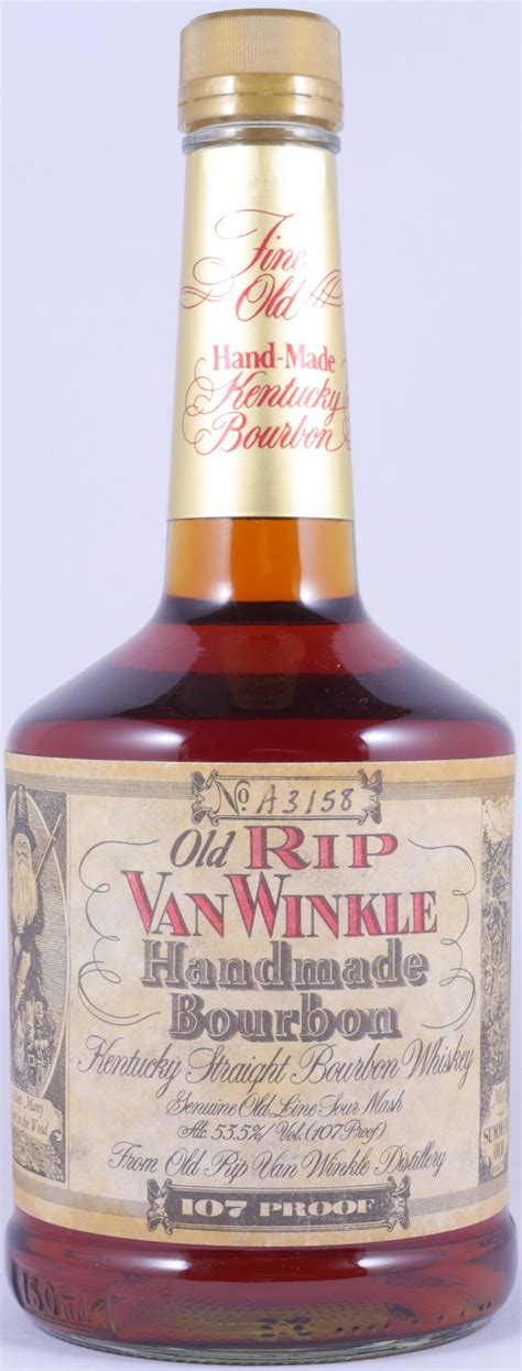 Rip Winkle Handmade Bourbon - buy rip winkle 10 years handmade kentucky