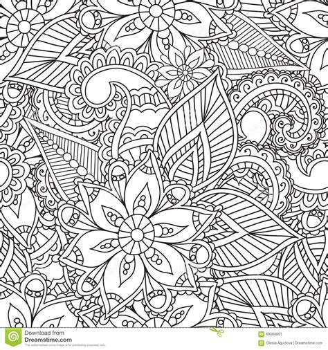 design for adults coloring pages for adults seamles henna mehndi doodles