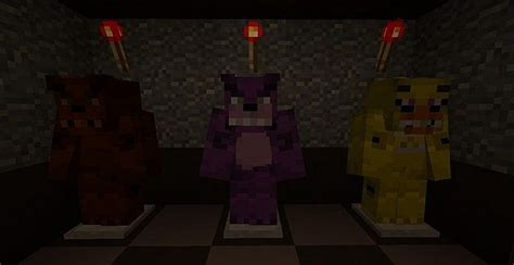 minecraft freddys nights at five five nights at freddys minecraft project