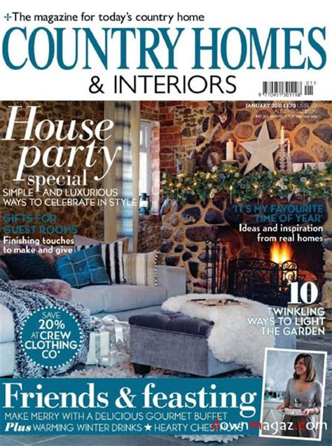 Homes And Interiors Magazine by Country Homes Interiors January 2011 187 Pdf