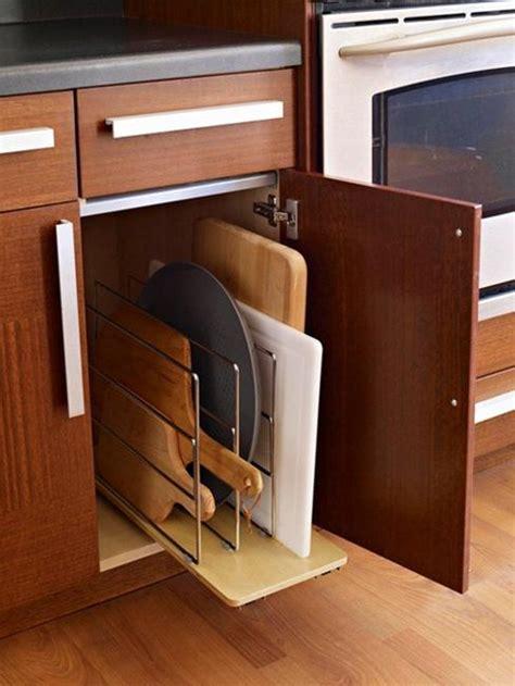 ingeniously simple kitchen storage ideas  organizing