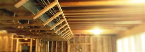 Framing Basement Ceiling by Framing A Basement For Drywall Image Mag