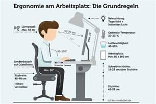 schreibtisch ergonomisch ergonomie am arbeitsplatz tipps f 252 rs b 252 ro karrierebibel de