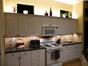 Lighting Above Kitchen Cabinets Lighting Ideas For Kitchen Lighting For Kitchen Home Trendy