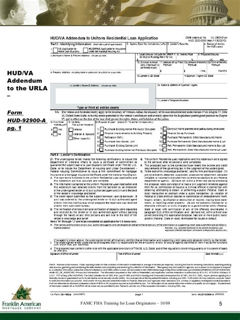 fha for loan originators oct 08