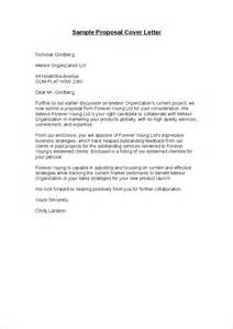sample project proposal letter business proposal