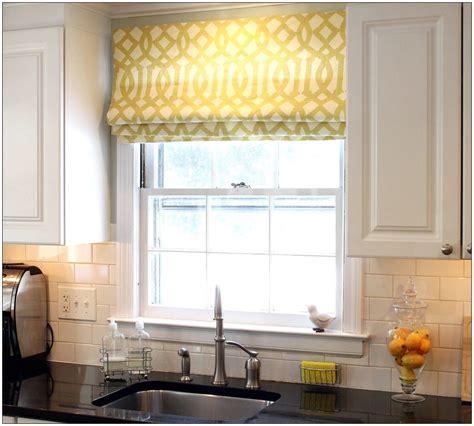 kitchen shades ideas valances kitchen kitchen roman shades window