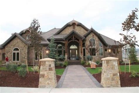 rock brick combination exterior home home improvement rock brick combination exterior home brick and stone