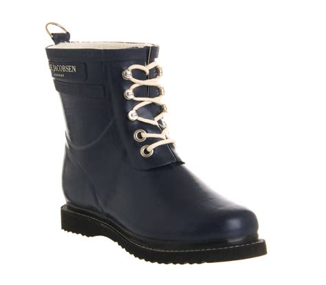 ilse jacobsen shoes womens ilse jacobsen rub 2 navy rubber boots ebay