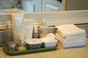 bathroom counter storage master bathroom organization