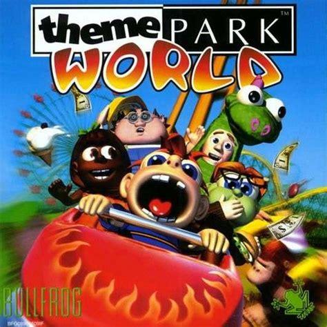 theme park world windows 10 theme park world encyclopedia gamia walkthroughs