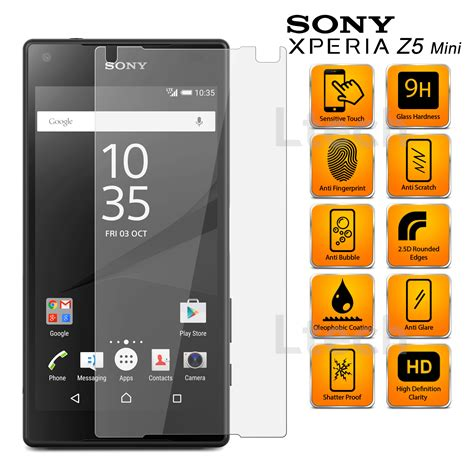 Tempered Glass Hyper Sony Xperia Z5 Compact Free Wrap sony xperia z5 compact anti scratch transparent tempered