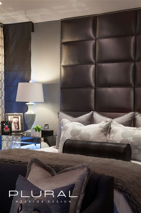 modern glam bedroom modern glam master retreat contemporary bedroom orange county by plural design