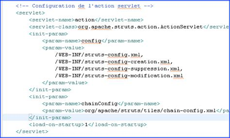 Modification De Fichier Xml by Application Struts Pas 224 Pas Avec Eclipse Web Tools
