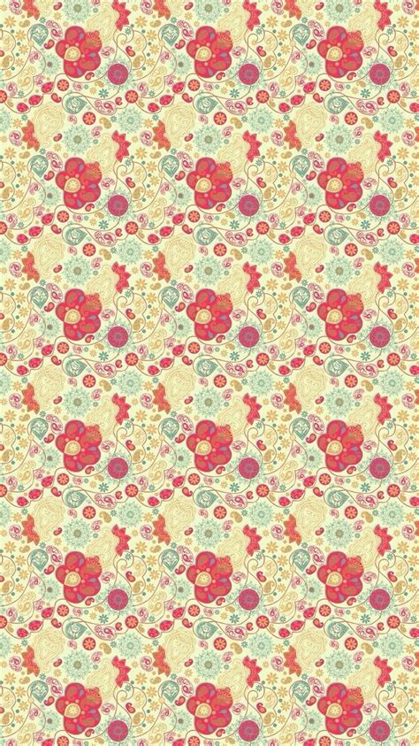 pattern background for iphone cute flowers pattern background iphone 6 wallpaper ipod