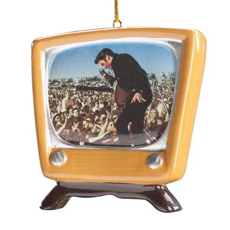 tv ornaments elvis retro tv ornament ornament