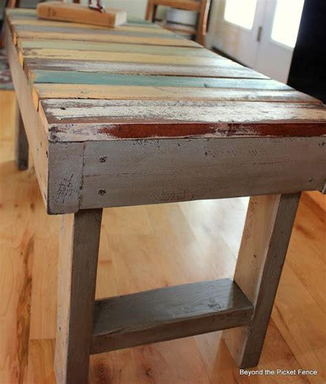 pallet bench pinterest pallet bench tutorial http bec4 beyondthepicketfence