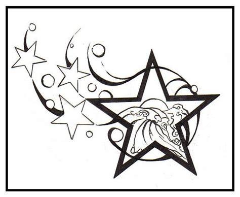 printable star tattoo designs star tattoo designs clipart best