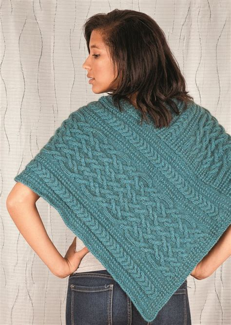knitting pattern for poncho knit poncho pattern cozy cable poncho love of knitting