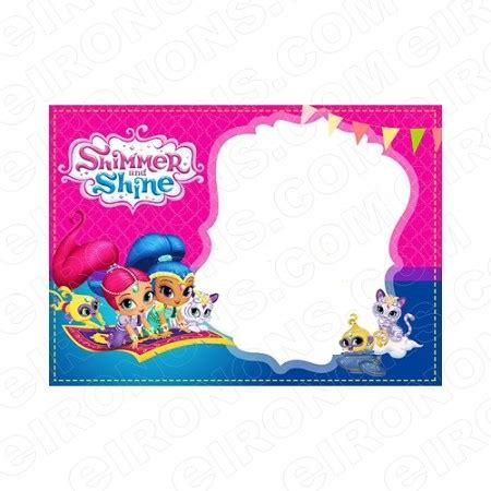 Shimmer And Shine Blank Editable Invitation Instant Download Isas3 Your One Stop Invitation Shimmer And Shine Invitations Templates