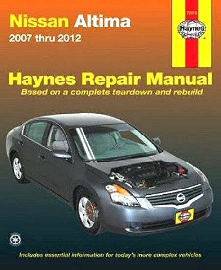 service manual auto repair manual online 2012 nissan xterra regenerative braking service 2007 2008 2009 2010 2011 2012 nissan altima haynes repair manual 0506 1620920506 ebay