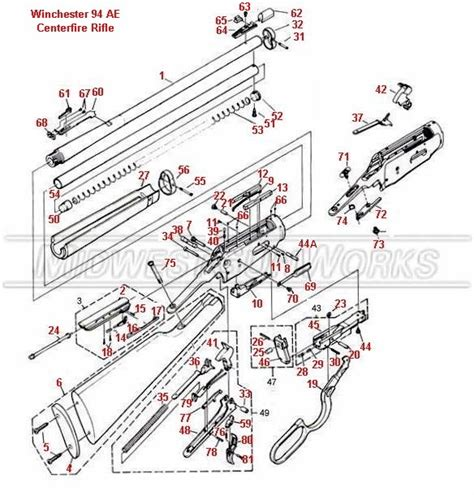 winchester model 94 diagram disassemble a pre 64 winchester 94 the knownledge