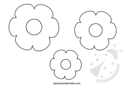 sagome da ritagliare fiori sagome fiori da ritagliare lavoretti creativi