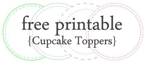 template for cupcake toppers 7 best images of anniversary cupcake topper free printable