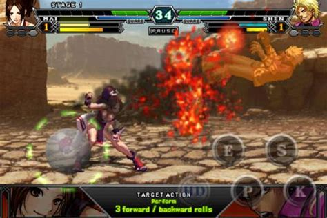 espgaluda ii apk the king of fighters released for android androidpimps all about android