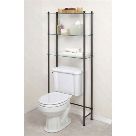 Bathroom Standing Shelves Free Standing Bathroom Shelf In The Toilet Shelving