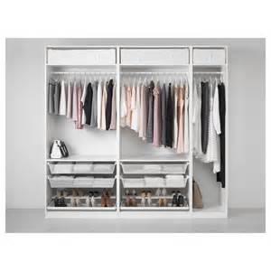 ikea kleiderschrank pax pax wardrobe white 250x58x236 cm ikea