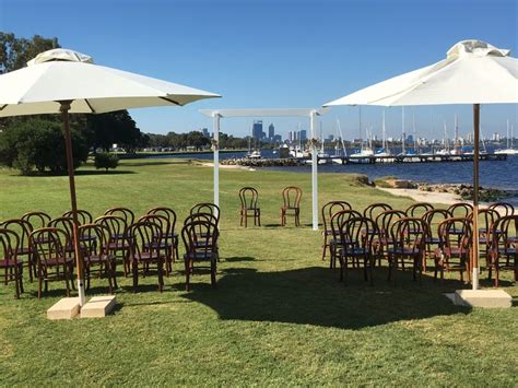 Wedding Arbor Hire Perth by Arbour Hire White Timber Frame Wedding Ceremony