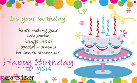 Birthday Wishes For Card Compose Card Birthday Wishes Cards Free Birthday Wishes