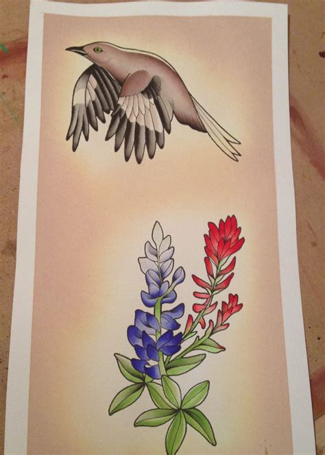 watercolor tattoo texas best 25 bluebonnet ideas on lilac
