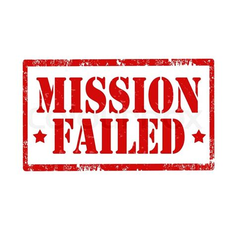 failed it how to grunge rubber st with text mission failed vector illustration stock vector colourbox