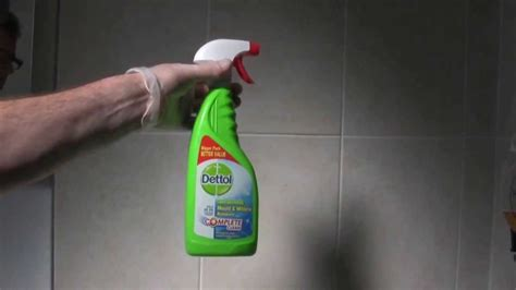 best bathroom mold cleaner dettol mould mildew remover youtube