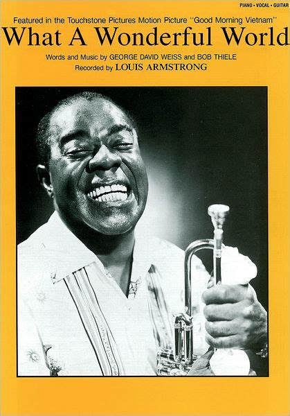 louis armstrong biography for students what a wonderful world sheet music by louis armstrong