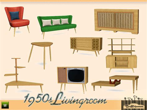 1950 living room furniture buffsumm s 1950s livingroom pt 1