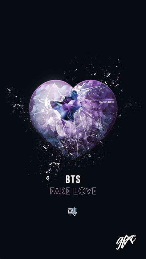 fake love bts  behance