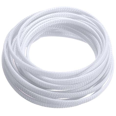 hose fabric 5m fabric hose braided hose cable protection cable conduit 4mm white ts ebay
