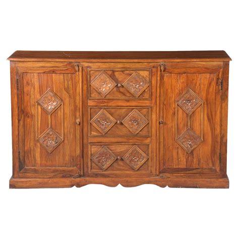 Wood Sideboard by Solid Wood 3 Drawer Sideboard