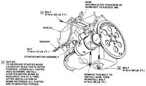 solved where is the starter located on a 86 cutlass fixya