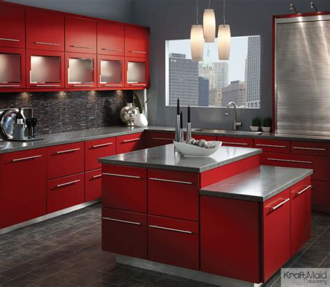 kitchen cabinets kraftmaid kraftmaid maple cabinetry in cardinal contemporary